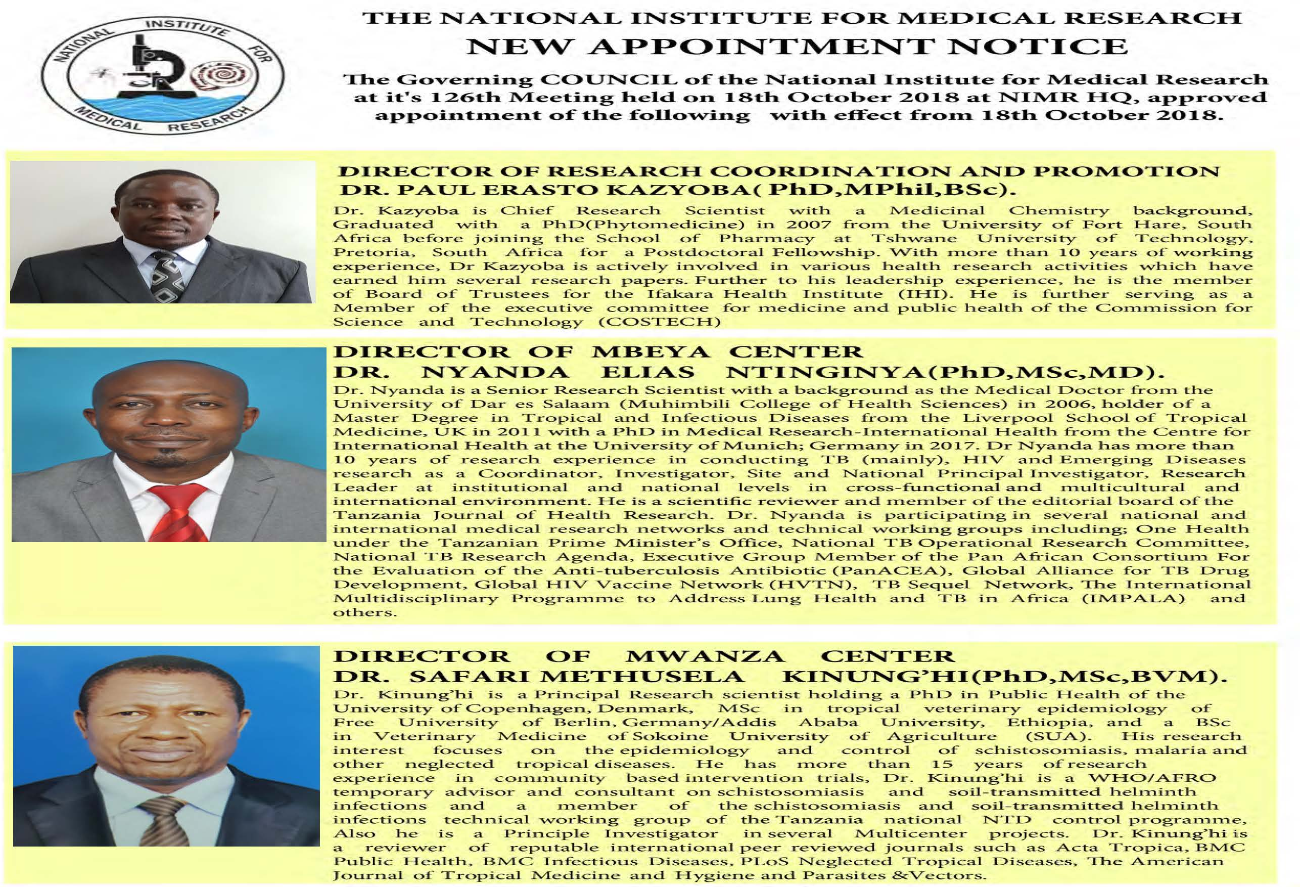 Appointment Notice Final